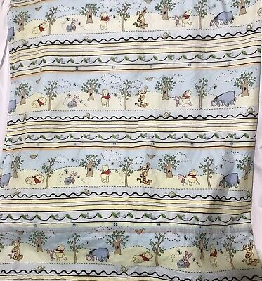 Winnie The Pooh Handmade Custom Lined Curtains Nursery Baby Room Decor 54 X42""
