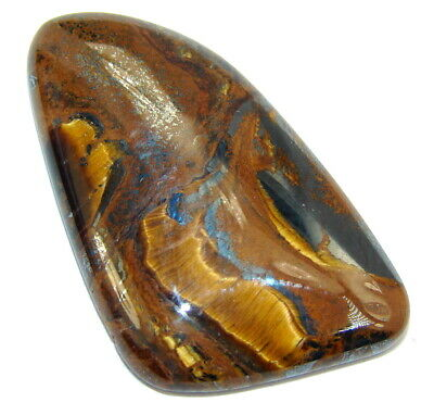 Natural Amazing golden brown tigers's eye 25.5ct loose stone from SilverRush Sty