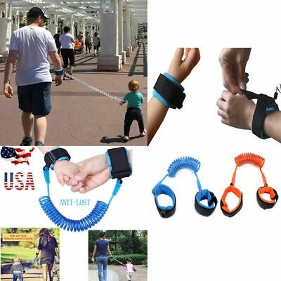 New Anti-Lost Band Baby Child Safety Harness Bracelet Strap Wrist Walking Leash