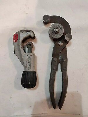 Reed Tubing Cutter TC14 and K-D 2189 Hand Tubing Bender