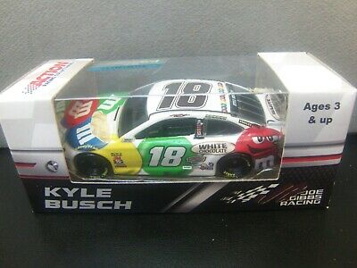 NEW Kyle Busch 2018 M&M's White Chocolate 1/64 Camry Monster Energy Cup