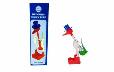 The Famous Retro Perpetual Motion Magic Drinking Bird (Green)