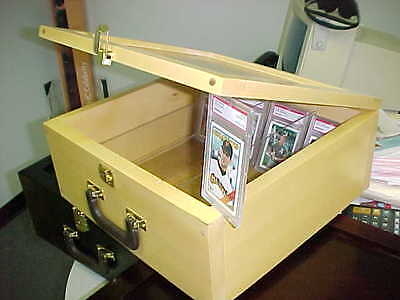 Graded card Storage Box  Case for Regular and Graded Baseball Cards