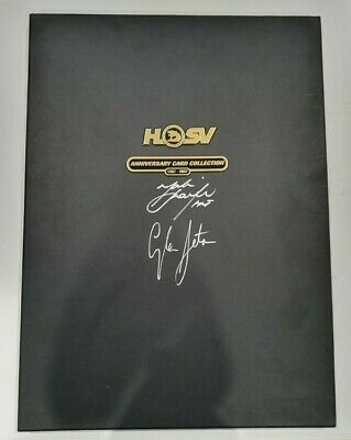 Holden Hsv Anniversary Card Collection 1987-2007 Signed Mark Skaife Glen Seton