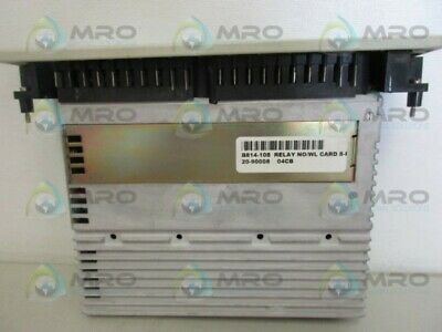 Used Modicon Relay Output AS-B814-108 Selectable N.O.//N.C