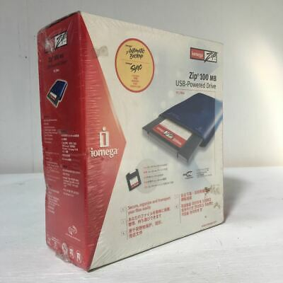 Iomega Zip Drive - 100 Mb - Boxed / Sealed - Deadstock - USB for Mac / PC