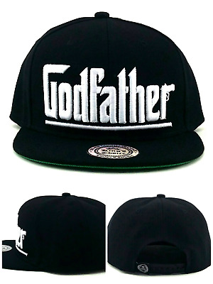 new concept 9531a ba169 The King s Choice New Leader Godfather Black White Era Snapback Hat Cap