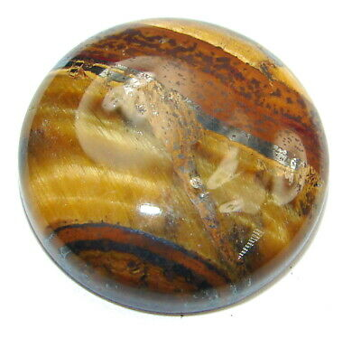 Natural Aaa vision golden brown tigers eye 20ct. loose stone from SilverRush Sty