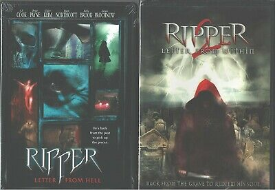 Ripper (Jack The ) 1 e 2: Lettera From Hell & Lettera da dentro - Nuovo 2 DVD