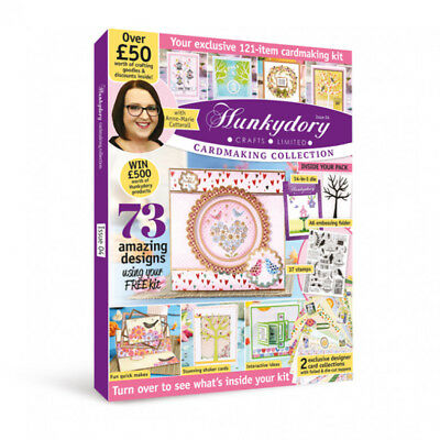 Hunkydory Box Magazine - Issue 4 - Cardmaking Collection Over £50 of Goodies!