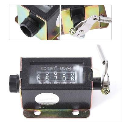 D67-F 5 Digit Mechanical Resettable Manual Hand Pull Stroke Tally Counter zg