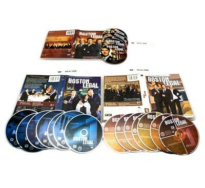 Boston Legal The Complete Series Season 1-5 28 Disc new