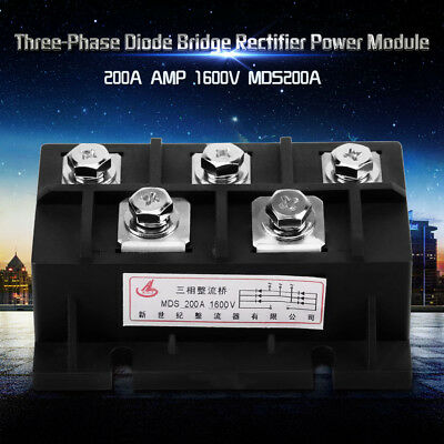 1600V High Power Three-Phase Bridge Rectifier Power Module AC to DC 100A/200A