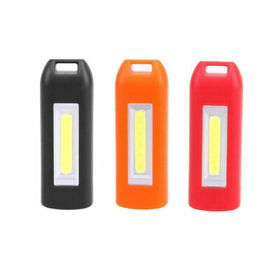 Mini USB Rechargeable COB LED Outdoor Work Light Convenient Keychain Lamp Torch