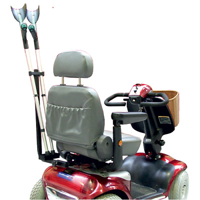 Mobility Scooter Crutch and Walking Stick Holder-Walking Stick Carrier by KOZEE