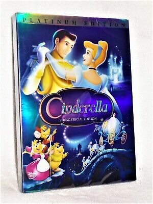 Cinderella (DVD, 2005, 2-Disc Set, Special Edition - Platinum Collection) DISNEY