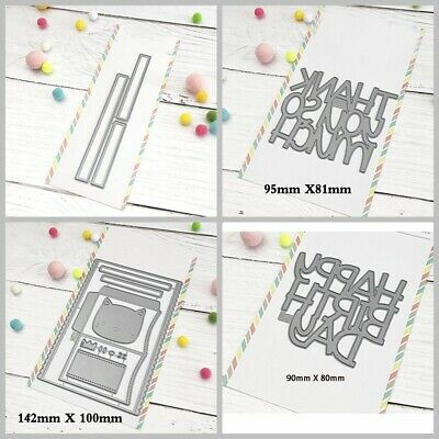Mama Metal Cutting Dies Stencil Handcrafts Paper Card Scrapbook Album Embossing