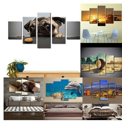 Ocean Sunset Sea Beach Canvas Prints Pictures Paintings on Canvas Wall Art
