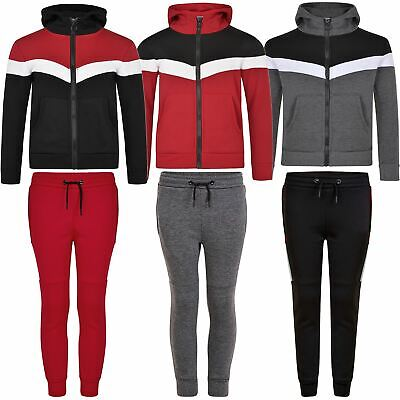 Girls Boys Hooded Top or Bottoms Kids Tracksuit Sweater or Trousers Pants 3-14 Y