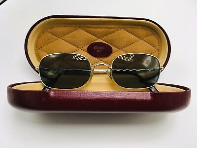 14ce1cf3fca1 BRUSHED PLATINUM PLATED 100% Cartier eyeglasses with 13 6point SI ...