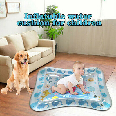 Inflatable Baby Water Mat Fun Activity Play Center For Children And Infants Hot