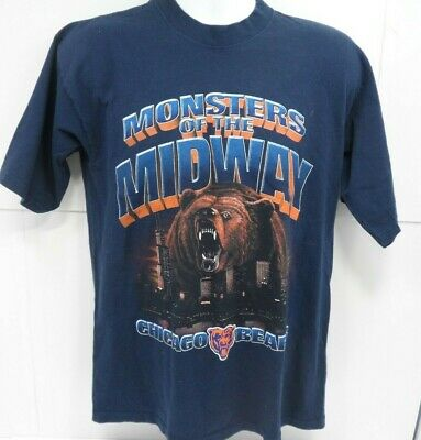 outlet store b1b37 6bea7 CHICAGO BEARS MONSTERS Of The Midway T-Shirt Size Medium ...