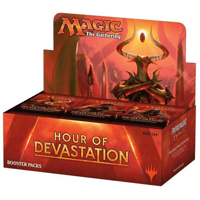 Magic the Gathering (MTG) Hour of Devastation Factory Sealed Booster Box
