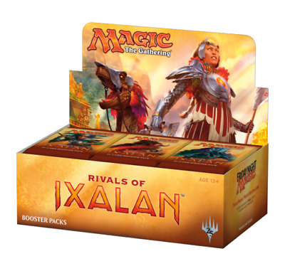 Magic the Gathering (MTG) Rival's of Ixalan Factory Sealed Booster Box