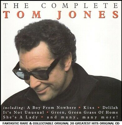 Tom Jones The Very Best Essential Ultimate 20 Greatest Hits Collection RARE CD