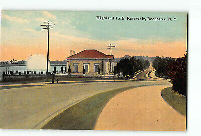 Rochester New York NY Postcard 1907-1915 Highland Park Reservoir