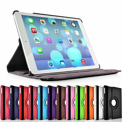 "Smart Stand Leather Case for iPad Pro 12.9"" (2017) 2nd Generation 360° Rotation"