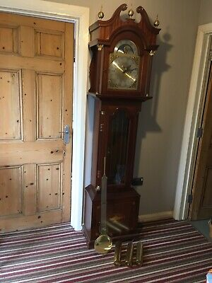Grandfather  clock, Herlmes 8 Day Clock movement . West, Whitt, St Mich  Chime