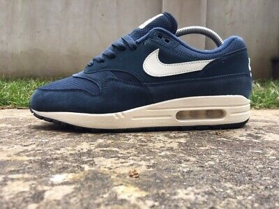 new concept 8be40 9f5f0 Nike Air Max 1 Size 8 UK EU 42.5 Men Trainers  Armory Navy  AH8145