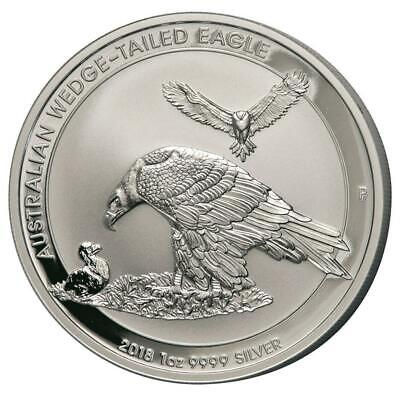 Australien 1 Dollar - Wedge Tailed Eagle 2018 - 1 Oz 999 Silber