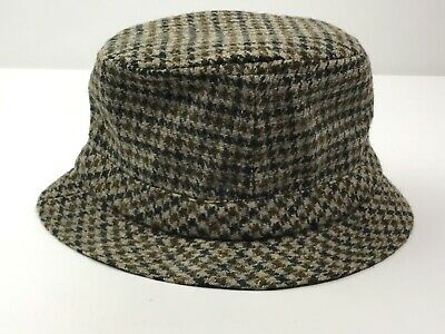 91fe2d0e3404f Vintage Wool Hat Fedora David Hanna   Sons Hand Crafted Ireland Size 7 7 8