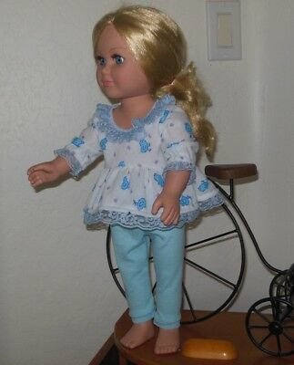 "18"" doll clothes handmade by Judy fit American Girl type dolls Pajamas"