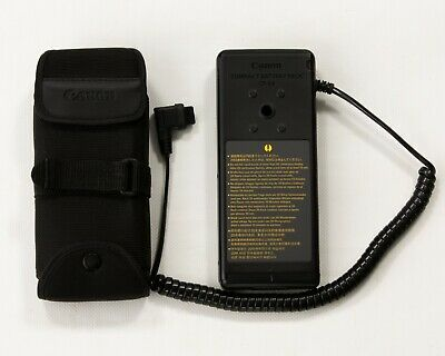 canon cp-e4 compact battery pack with case black