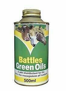 Battles Green Oils 500ml - Maintains the optimum conditions for the natural...