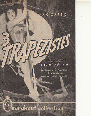 encart Marabout collection 3  trapézistes