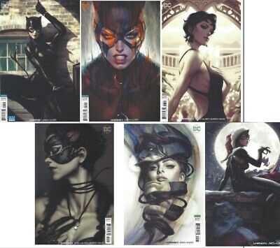 Catwoman (2018) #1 2 3 4 5 6 Near Mint 1St Prints 1-6 Artgerm Variants Dc Comics