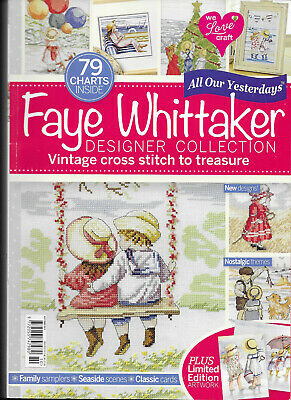 Faye Whittaker Designer Collection 79 Charts Vintage Cross Stitch Publication