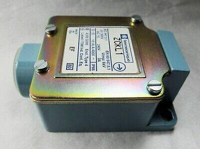 TELEMECANIQUE SENSORS ZCKL1 LIMIT SWITCH BODY ONLY 3A AMP 240V New