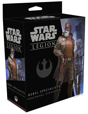Star Wars Legion Miniatures game: Rebel Specialists Personnel Expansion FFGSWL26