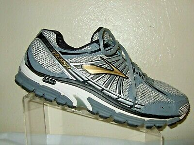 e2a97c3106727 BROOKS BEAST 16 Running Shoes Silver Blue Men s US 14 EUR 48.5 (L1