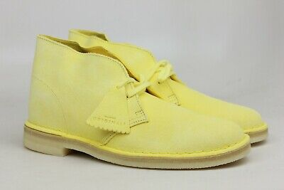 fd7b6f104 Clarks Originals Desert Boot Pale Yellow Mens Size Shoes 39870 Original OG S