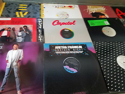 "Funk / Soul / Disco - Lot of 15 12"" Singles DJ Vinyl Records Promos 1980's"