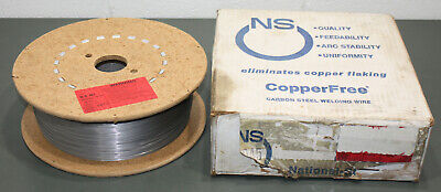 """(30 lbs) NS Carbon Steel Welding Wire ER70S-3, 0.045"""", Spool, Copper Free, MIG"""