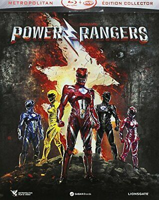 Power Rangers [Combo Blu-ray + DVD - Edition Limitee boitier SteelBook] // BL...