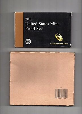 2011 United States Mint Clad Proof and UNOPENED Uncirculated P & D Sets
