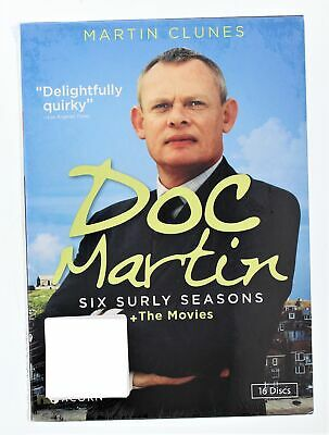 Doc Martin The Complete Series Plus the Movie - starring Marin Clunes - DVD